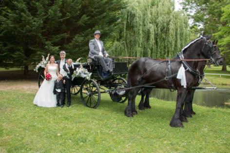 Hochzeitskutsche Landauer